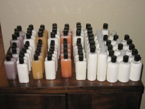 Handmade Shampoo, Conditioner, and Lotion